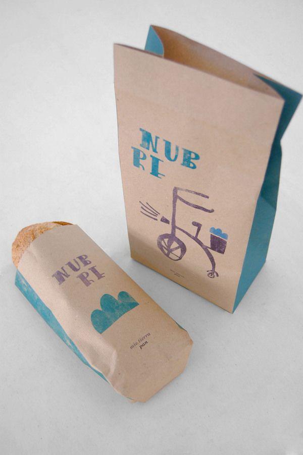 "Mie Tierra "" Nubre Bread "" by Ze Das Couves, via Behance"