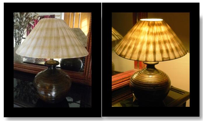 Chanderi Lamp