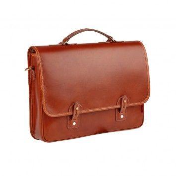 mens leather work bag - Chapman