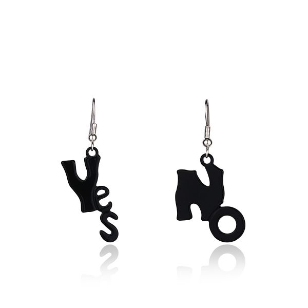 Yes No Küpe #kupe #takı #aksesuar #earring #yes #no #trend #accessory #woman #fashion #kadın #stil #style #cute #stilish #trendy #elegant