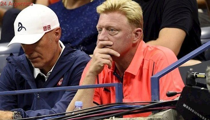 El engaño de Boris Becker: donó una raqueta falsa para una subasta a beneficio