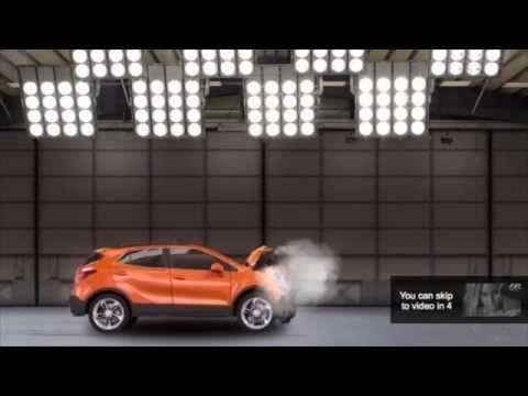 Opel Mokka Skiptest - Opel Mokka Case study - YouTube