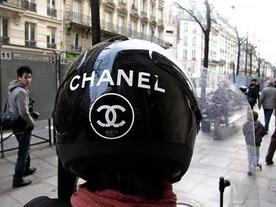 Chanel Helmet if I get a black vespa instead ;)