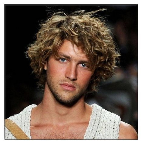 30 best Men long curly images on Pinterest