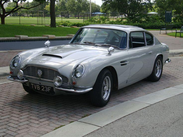 Aston Martin DB6...what a beauty, Mr. Bond!