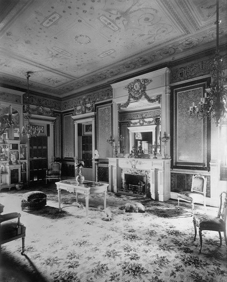 1889 Krueger- Scott Mansion Music Room. One