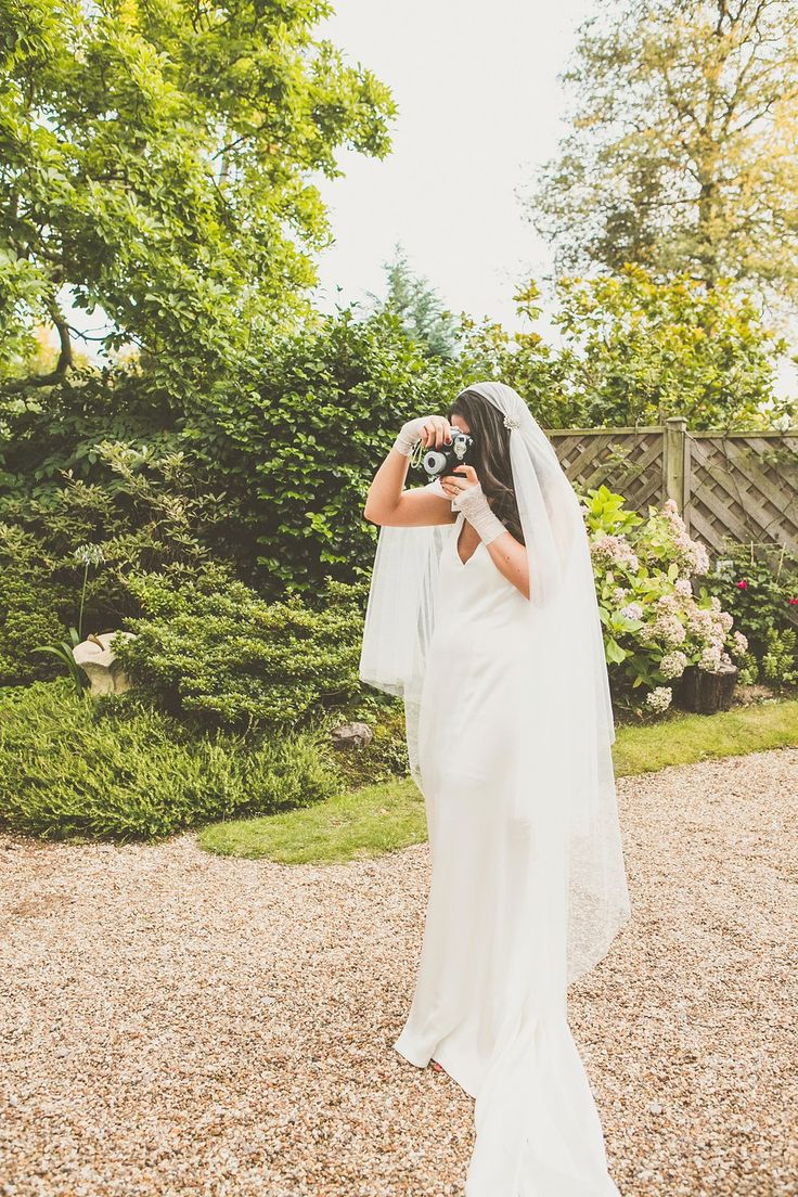 A Second Hand Oxfam Wedding Dress for a Laid Back and Homemade Back Garden Wedding