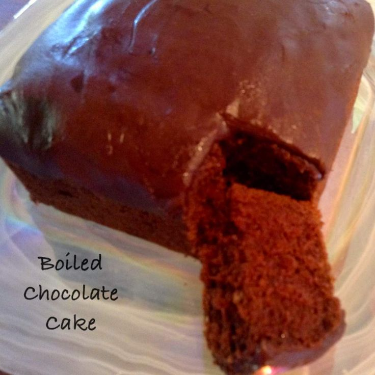 Recipe Boiled Chocolate Cake by tessie1234 - Recipe of category Baking - sweet