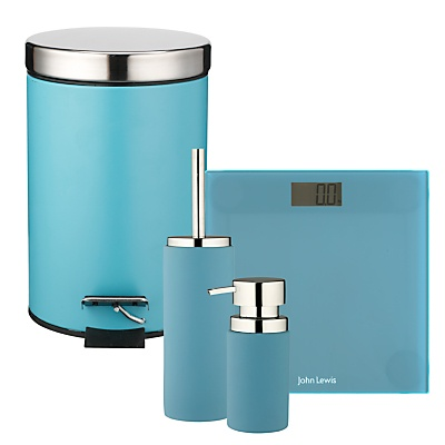 1000 images about color inspiration teal on pinterest for Teal coloured bathroom accessories