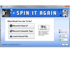 SPIN IT AGAIN - Convert LPs   Cassettes to CD  MP3 download quick delivery Easy to use. Great last minute gift idea.