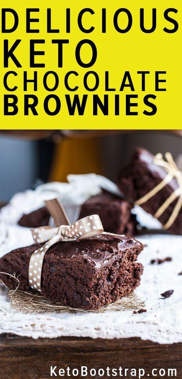 Keto Chocolate Brownie Recipes: 6 YumYum Low Carb Brownie Recipes