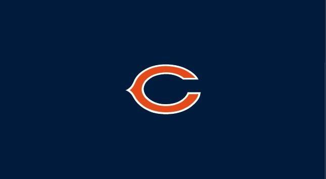 Chicago Bears 8' Pool Table Cloth