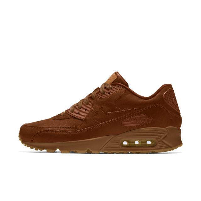 Nike Air Max 90 Premium Will Leather Goods iD Shoe. Nike.com