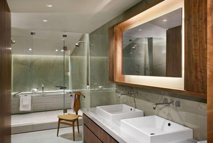 West Village Townhouse - Master Bathroom - by David Howell Design