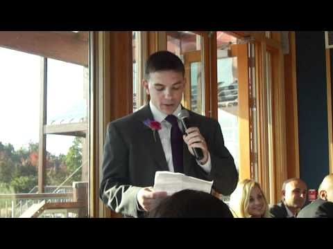 Steve's Hilarious Best Man Speech - YouTube  dawwwwwwww..