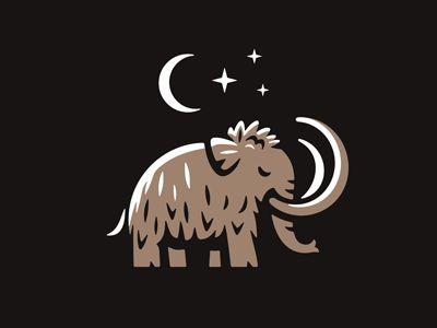- 998bc480ee9d1b6d8fb59e007dd6aa94 - Mammoth Logo by dizamax #dribbble #design #logo #logodesign #branding #illustration #dribbblers