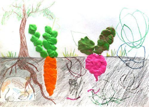 игры с пластилином лепим с детьми овощи как растут овощи  #kids crafts #ka-var-dak #kavardak #fairytale #plasticine #plasticinetoys #playwithkids