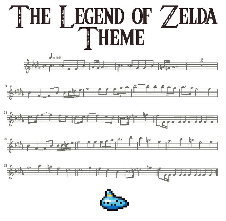 The Legend Of Zelda Theme
