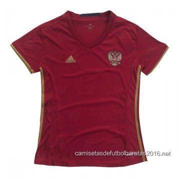 Comprar replicas camisetas de fútbol baratas 2016 : Mujer camiseta de la Copa de Europa de Rusia 2016 ...
