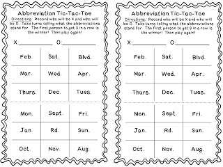 week 5 abbreviations Free, printable abbreviation worksheets to help your students develop strong grammar and language skills use in class or home visit today.