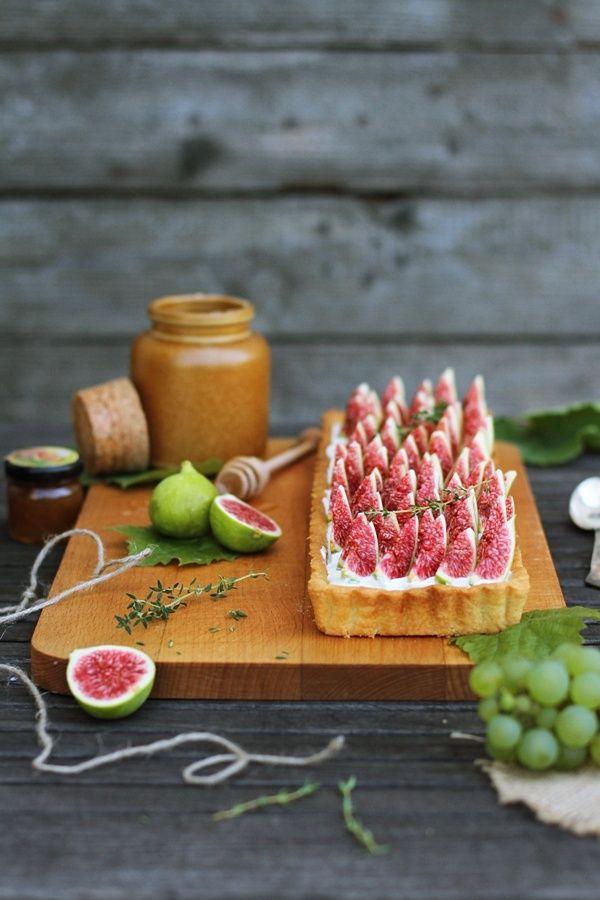 ... tarte aux figues ...