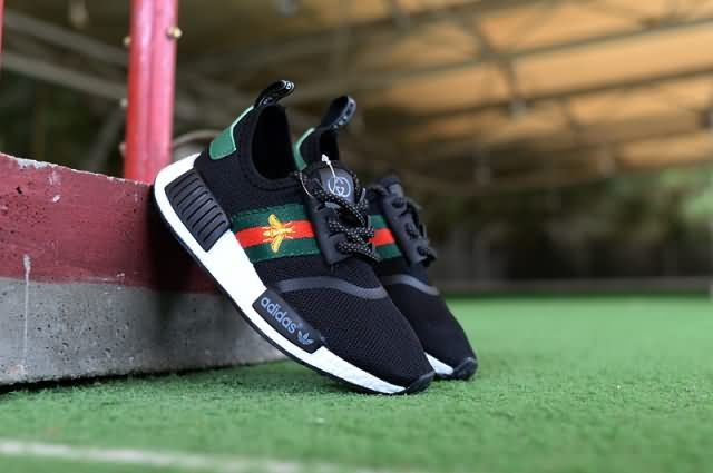 Cheap Adidas NMD R1 Kid 2018 shoes Black Only Price $42 To Worldwide Free Shipping