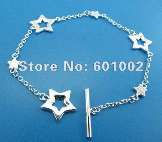 GY-PB178 Free Shipping Wholesale 925 silver Fashion Jewelry Bracelets, 925 Silver Bracelets bpda kgka sxta US $2.04