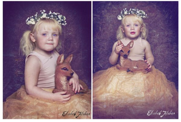 Deer Girl Photo:Elisabeth Jakobsen Model: Julie #Deer #Girl #Child