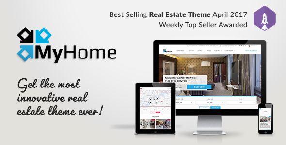 Mejores 120 imágenes de # Real Estate Wordpress Theme Templates ...