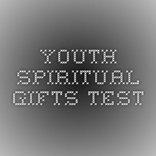 Priceless image within printable spiritual gifts test for youth