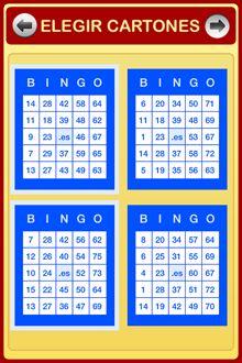 Seleccion Cartones Bingo 75