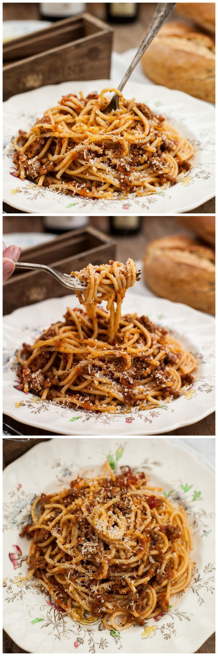 My FAVORITE Recipes: Spaghetti Bolognese - Vikalinka