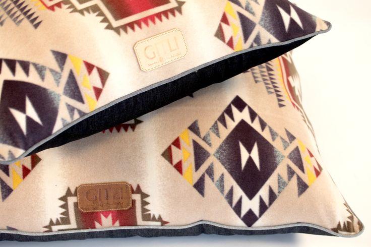 Gitli Goods - The Camp Bed (Cream), $185.00 (http://www.gitligoods.com/southwestern-dog-bed/)