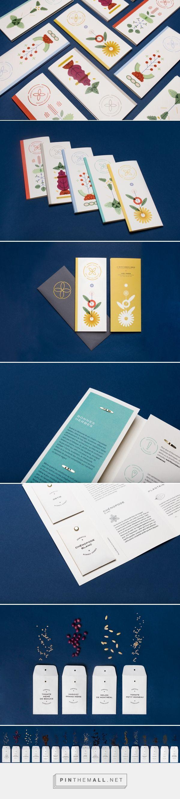 Livrets de semences ancestrales / seed packaging / by Simon L'Archevêque