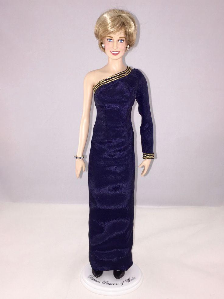 94 best Princess Diana Dolls images on Pinterest   Franklin mint ...