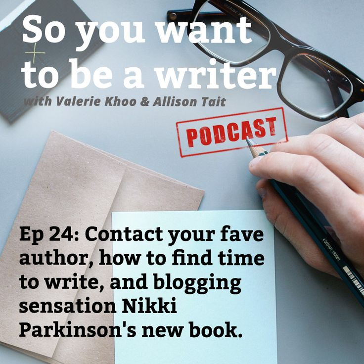 Styling You's Nikki Parkinson interviewed on So You Want To Be a Writer with Valerie Khoo and Allison Tait.  Ep 24 Contact your fave author, how to find time to write, show don't tell, and blogging sensation Nikki Parkinson's new book - Unlock Your Style
