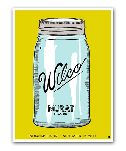 Wilco concert poster