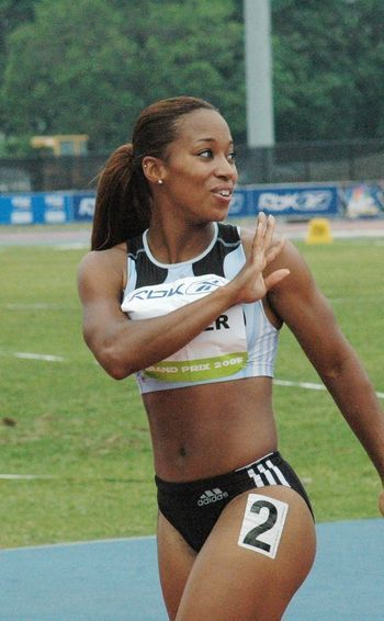 hot black female athletes