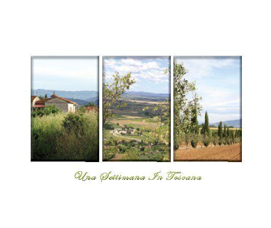 Photobook Design: A week in Tuscany