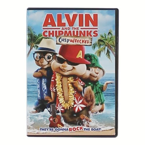 Movie: Alvin And The Chipmunks Chipwrecked, $3