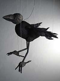 The Crow Monster - Marionette by Niki Ulehla