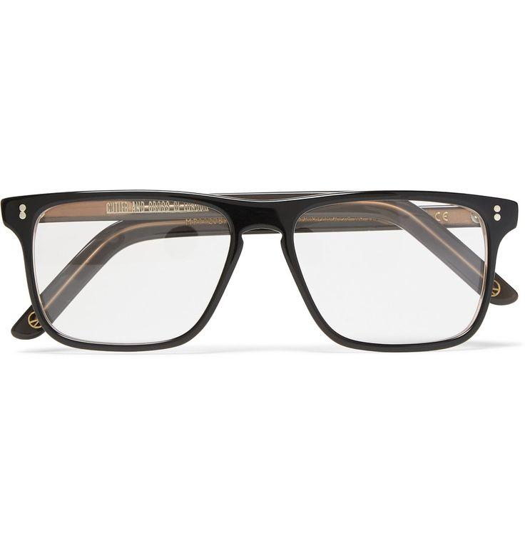 Kingsman - + Cutler and Gross Square-Frame Acetate Optical Glasses|MR PORTER