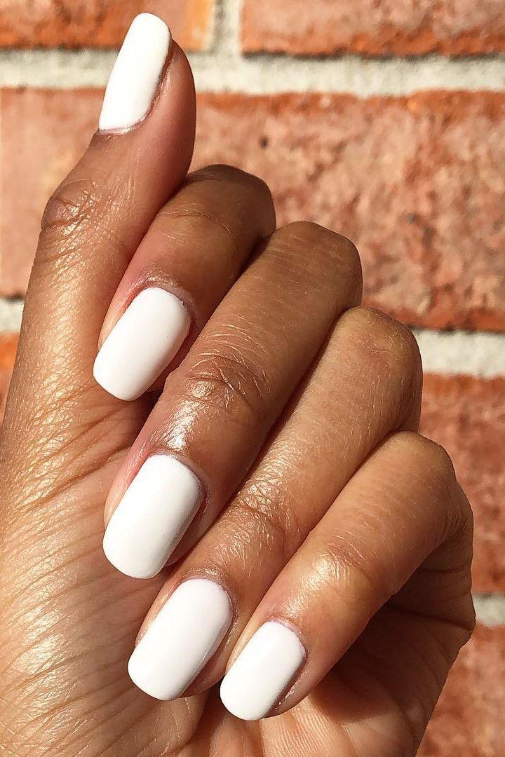 Tayloranise White Nails Short Acrylic Nails White Acrylic Nails Nails