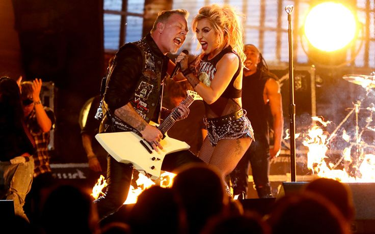Metallica & Lady Gaga Overcome Technical Difficulties During Grammy Performance Like True Rock Stars  ---------------------  #gossip #celebrity #buzzvero #entertainment #celebs #celebritypics #famous #fame #celebritystyle #jetset #celebritylist #vogue #tv #television #artist #performer #star #cinema #glamour #movies #moviestars #actor #actress #hollywood