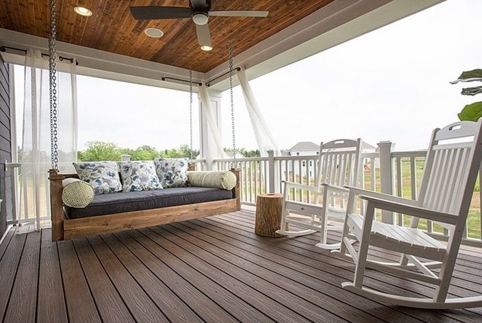 beautiful veranda | Patio ceiling ideas, Craftsman style ...