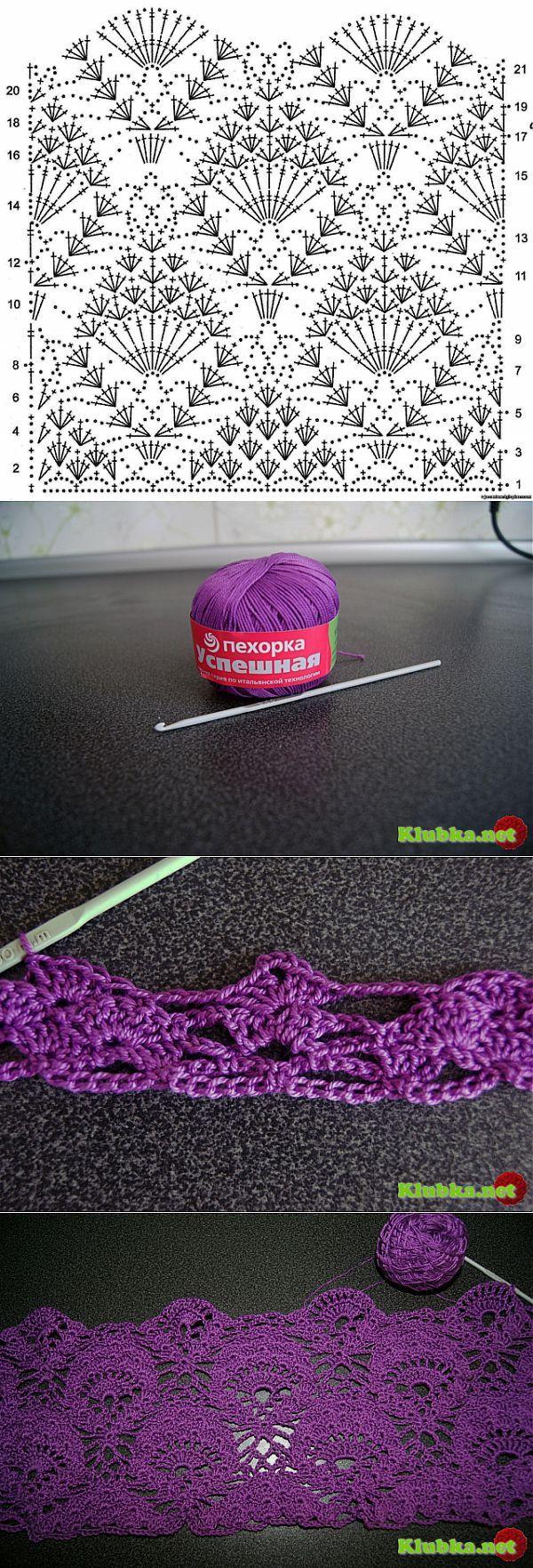373 best Häkelmuster images on Pinterest | Crochet patterns, Crochet ...