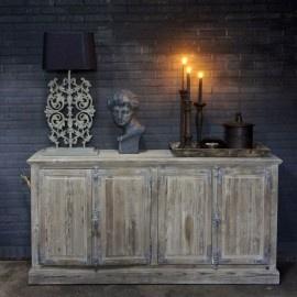Dressoir van Oud Hout met Spanjolet Sluiting | Kasten | Herbers Lifestyle