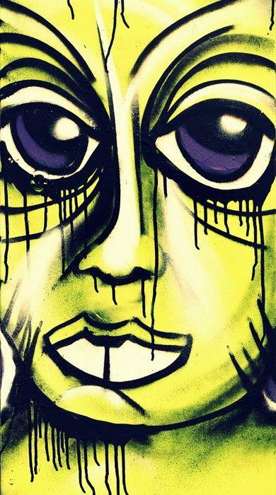 Graffiti Painting from $39.99 | www.wallartprints.com.au #ArbanArt #WallArtPrints