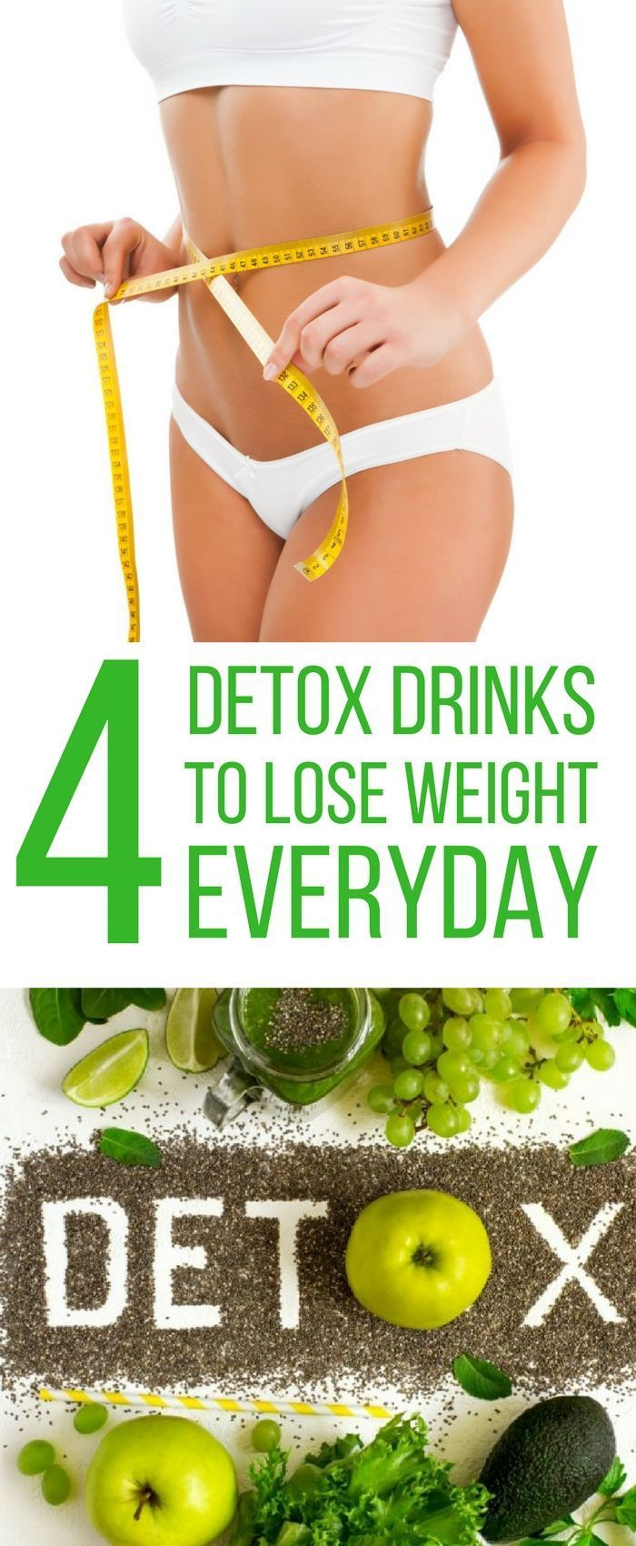 4 Detox Drinks to Lose Weight Everyday – Holistic Health