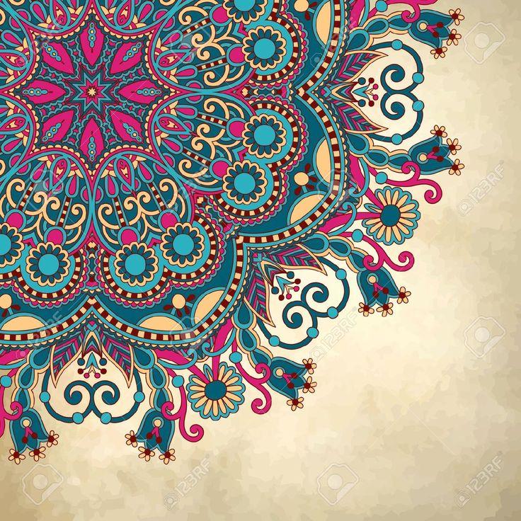 ☮ American Hippie Bohéme ☮  Rose Boho ☮ Mandala